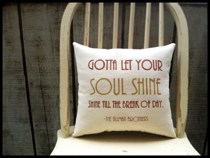 soul shine pillow